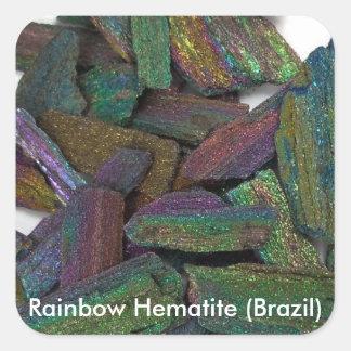 Rainbow Hematite Stickers