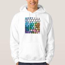 Rainbow Hex Graphic Design Hoodie