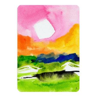 Rainbow High Noon Card