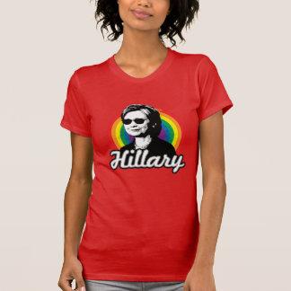 Rainbow Hillary Clinton 2016 - Cool Clinton -  LGB T-Shirt