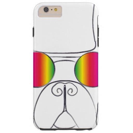 Rainbow Hippie Dog iPhone 6 Plus Case