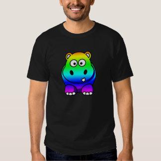 Rainbow Hippo Shirt