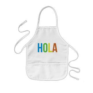 Rainbow Hola Kids' Apron