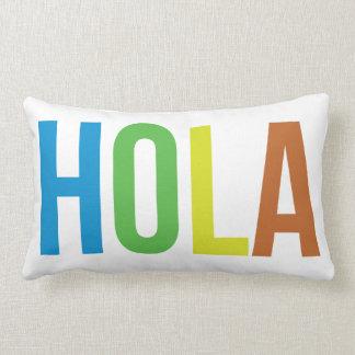 Rainbow Hola Pillow