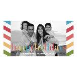 RAINBOW Holiday Photo Card Photo Card