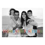 RAINBOW Holiday Photo Cards Personalized Invitations