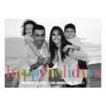 RAINBOW Holiday Photo Cards Invites