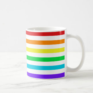 Rainbow Horizontal Stripes 1 Mug