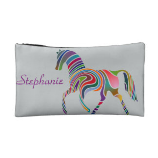 Rainbow horse design on bag