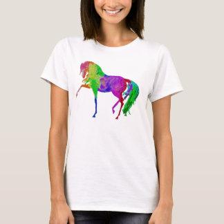 Rainbow horse design t-shirt
