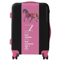 Rainbow horse no2 luggage