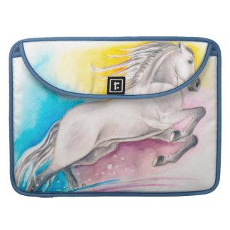 Rainbow Horse Sleeve For MacBook Pro