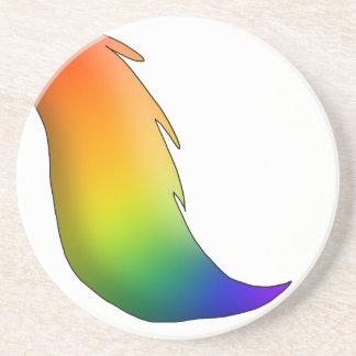 Rainbow Horse/Unicorn Tail Coasters