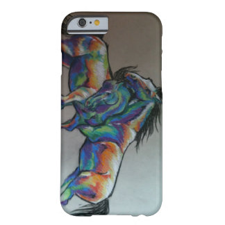 Rainbow Horses Barely There iPhone 6 Case