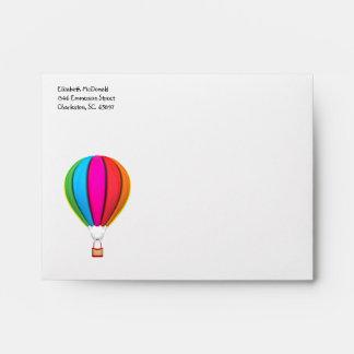 Rainbow Hot Air Balloon A2 Envelope