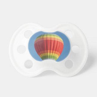 Rainbow Hot air Balloon Pacifier