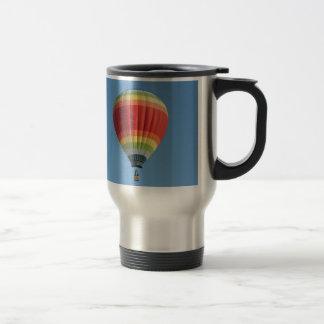 Rainbow Hot Air Balloon Travel Mug