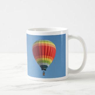 Rainbow hot air baloon coffee mug