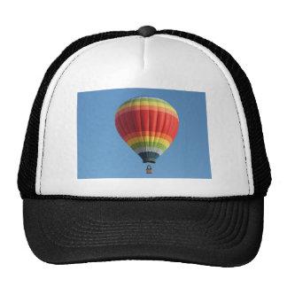 Rainbow hot air baloon trucker hat