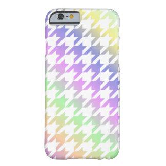 Rainbow Houndstooth Lite Pattern Phone Case