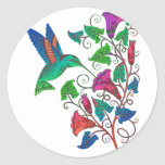 Rainbow Hummingbird Sticker