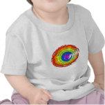 Rainbow Hurricane by Billy Kakuki T Shirts