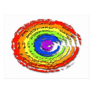 Rainbow Hurricane Postcard