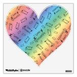 Rainbow I love gymnastics Wall Graphic