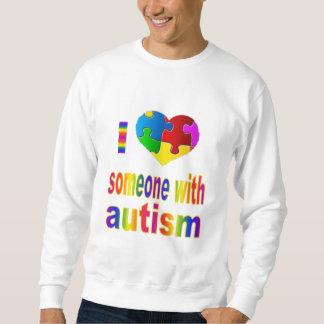 Rainbow I Love Someone Sweatshirt