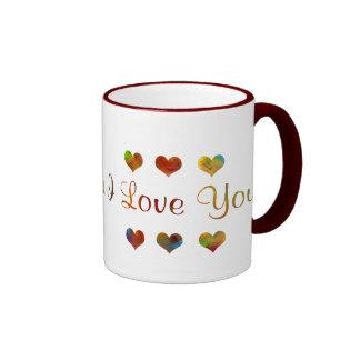 Rainbow - I Love You - Mug