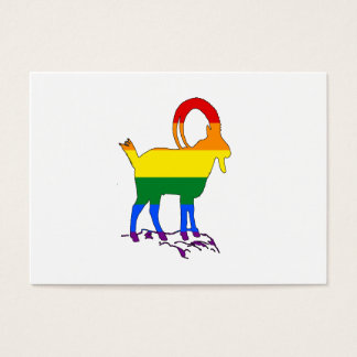 Rainbow Ibex Business Card