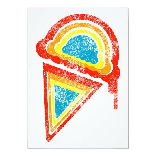 rainbow ice cream dripz card