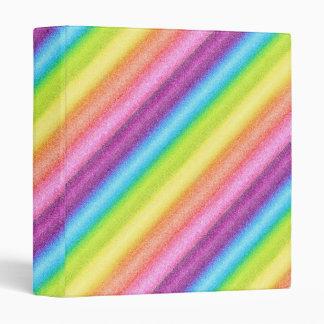 """Rainbow Ices"" Binder"