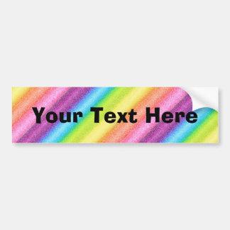 """Rainbow Ices"" Bumper Stickers"