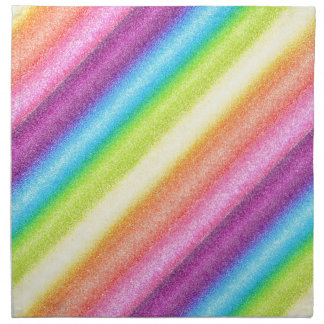 """Rainbow Ices"" Printed Napkins"