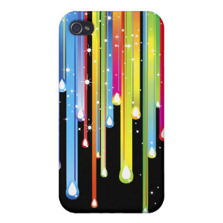 Rainbow Icicles 3G/GS  iPhone 4 Covers