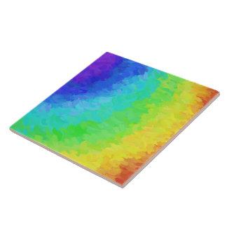 Rainbow Icy Ceramic Tile