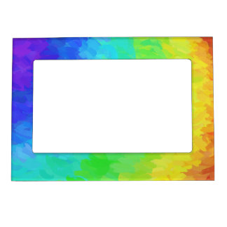Rainbow Icy Magnetic Photo Frame