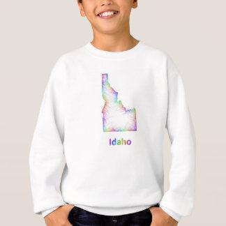 Rainbow Idaho map Sweatshirt