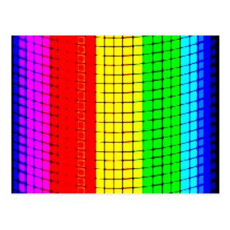 rainbow Illusion Postcard