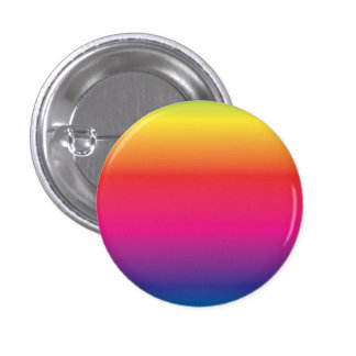 Rainbow Image Template 1 Inch Round Button