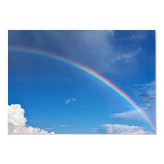 Rainbow in a Blue Sky Card