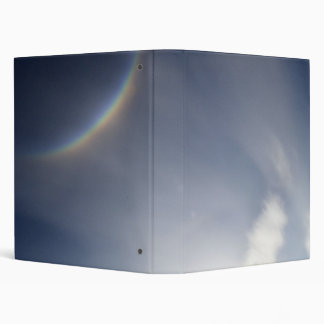 Rainbow in Dark Sky Binder