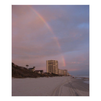 Rainbow in Daytona Beach Print