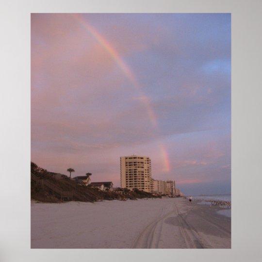 Rainbow in Daytona Beach Print