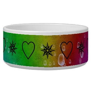 rainbow in elephantenskin leatheroptik bowl