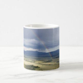 Rainbow in Grand Teton National Park Coffee Mug