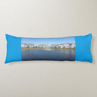 Rainbow in H2O Grade A Cotton Custom Body Pillow