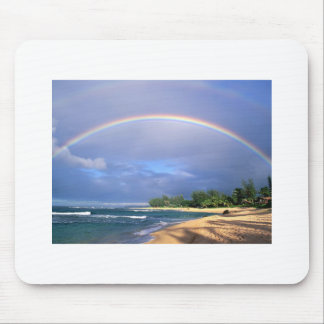 Rainbow in Hawai Mouse Pads