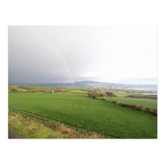 Rainbow in Ireland Postcard